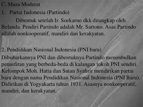 Mencapai Indonesia Merdeka Ir Soekarno Seg strategi pergerakan nasional di indonesia pada masa awal kelompok 5