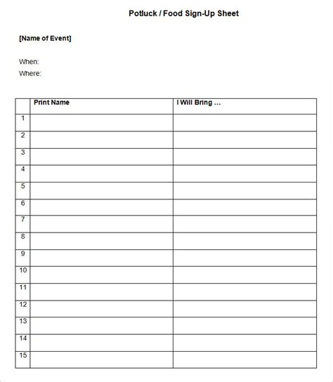 stin up templates for boxes sign up sheets 58 free word excel pdf documents