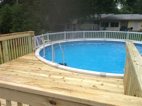 how to build above ground pool deck pool pool loversiq