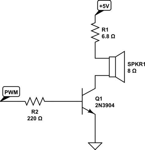 8 ohm resistor speaker arduino how many volts can a 1 watt 8 ohm speaker take electrical engineering stack exchange