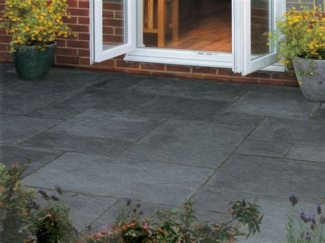 Natural Indian Limestone Paving Blue Black Patio Limestone Patio Pavers