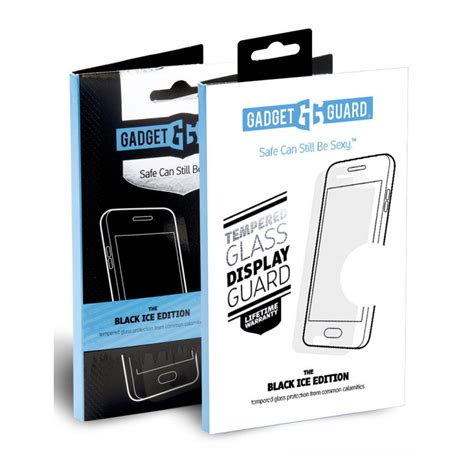 wholesale gadget guard black ice glass screen protector