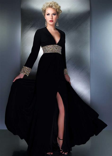 imagenes de cumpleaños elegantes vestidos negros para la noche 161 deslumbrantes vestidos glam