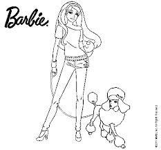 barbie  colorear images  pinterest