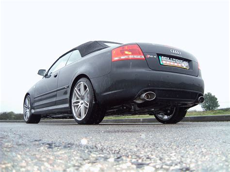 audi rs4 exhaust audi rs4 4 2v8 cabriolet with milltek sport exhaust system