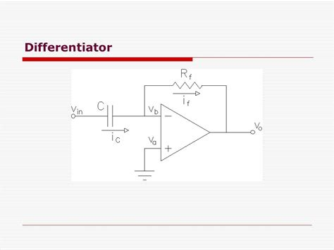 rc rl integrator and differentiator circuits integrator and differentiator circuit 28 images rc and