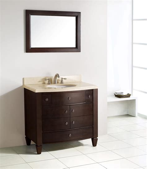 Bathroom Vanity Experts Rafferty Single 36 5 Quot Inch Contemporary Bath Vanity Set With Mirror