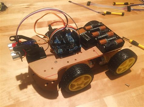 Car Port Kit How To Build A 4wd Arduino Robot For Beginners