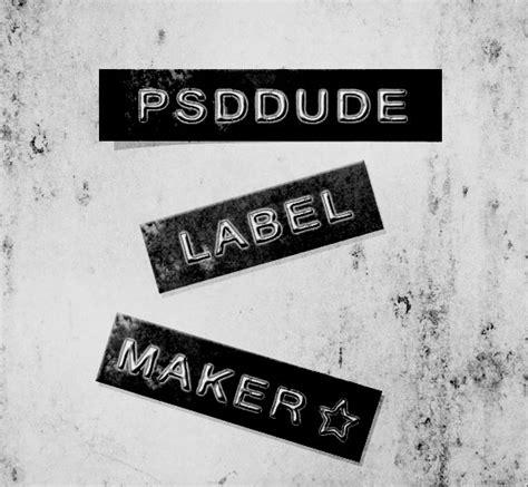 label design photoshop tutorial font label maker in photoshop photoshop tutorial psddude