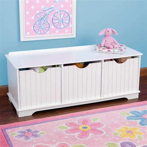 nantucket bench nantucket storage bench white children s toys in south