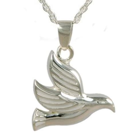 dove cremation urn necklace