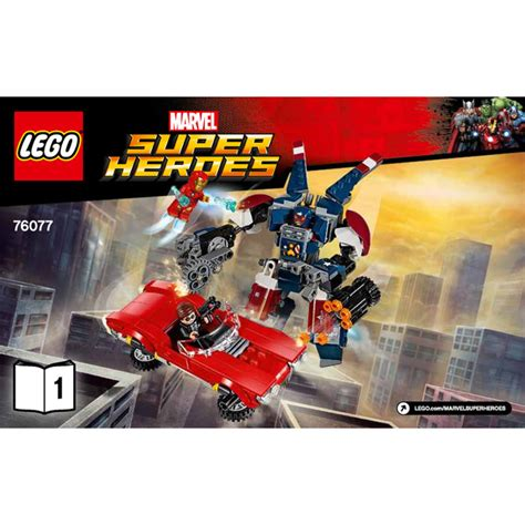 76077 Lego Marvel Heroes Iron Detroit Steel Strikes lego iron detroit steel strikes set 76077