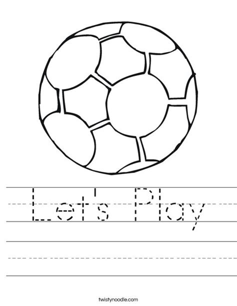 soccer goal setting worksheet let s play worksheet twisty noodle
