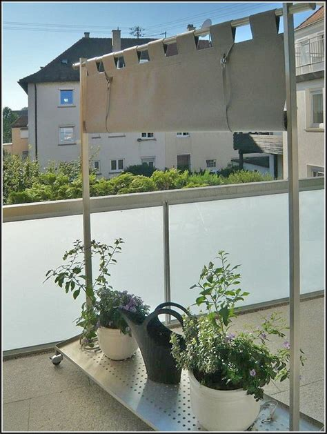 Sichtschutz Aus Stoff by Balkon Sichtschutz Stoff Grn Balkon House Und Dekor