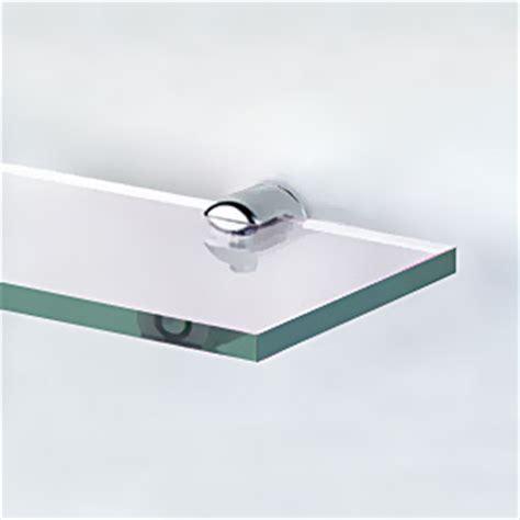 Bathroom Glass Shelf Supports 2 X Diy Chrome Bathroom Glass Shelf Or Mirror Wall