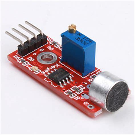 electronics sensors sound microphone sensor sound detection module for arduino
