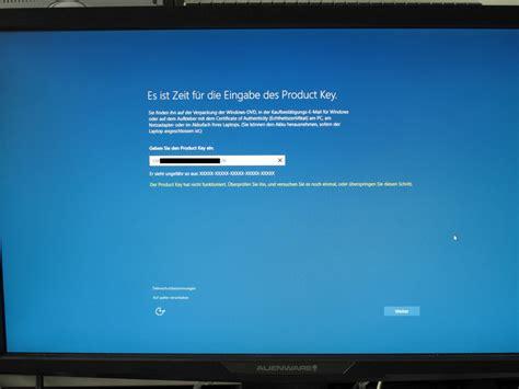 install windows 10 key wie installiere ich windows 10 anleitung f 252 r upgrades und