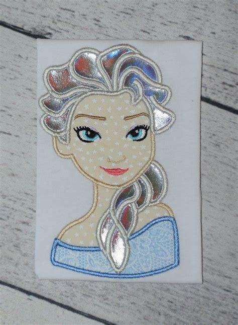 embroidery design elsa frozen frozen snow queen applique embroidery design elsa 4x4 5x7
