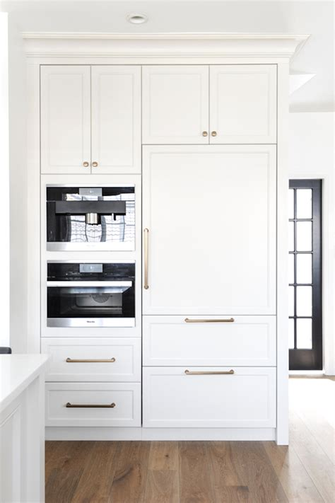 built in fridge creative ways to incorporate built in cabinetry