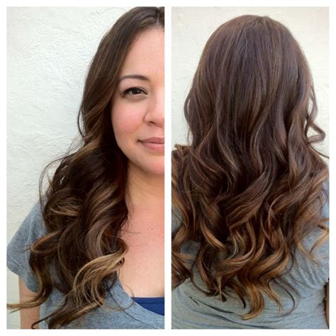 a line with subtle balyage highlights hair balyage subtle balayage hair pinterest subtle balayage and