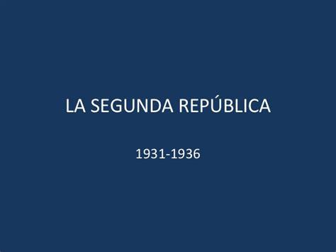 la segunda repblica 1931 1936 8477375275 la segunda rep 250 blica