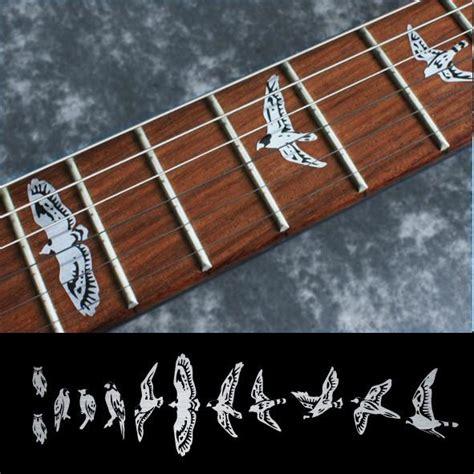 Murah Stiker Fret Gitar Mixed Pattern Guitar Fretboard Sticker prs type inlay stickers jockomo