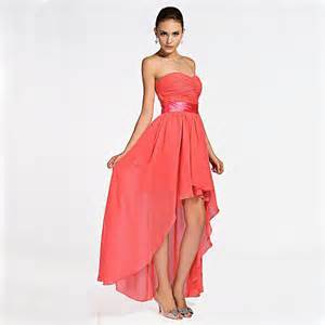 coral colored plus size dresses cheap customized plus size coral colored high low