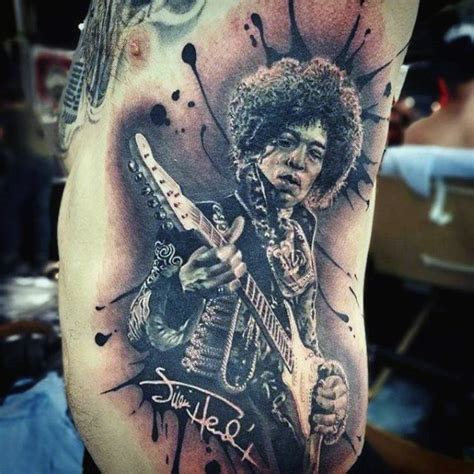 jimi hendrix tattoo 60 jimi designs for musical ink ideas