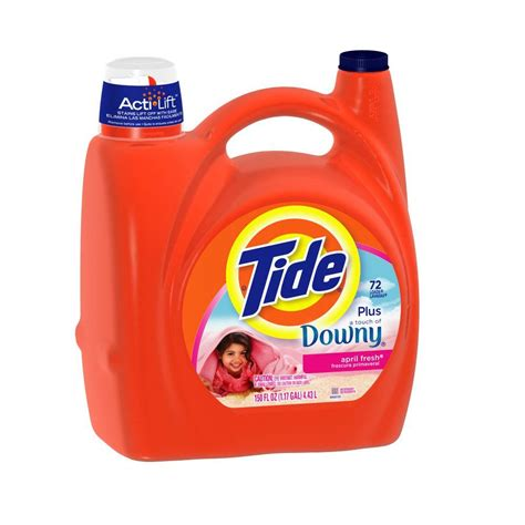 downy washer tide plus downy 150 oz april fresh scent liquid laundry