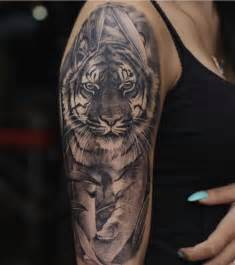 dope sleeve tattoos 25 best tiger sleeve ideas on sleeve