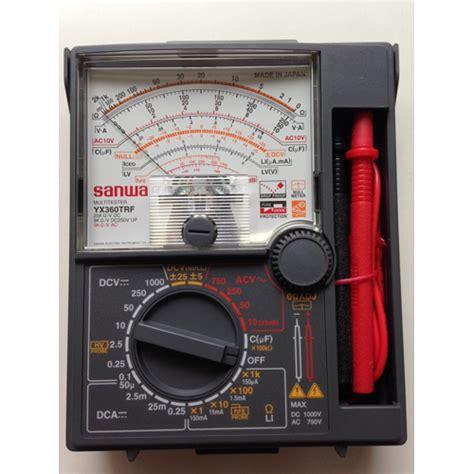 Multimeter Heles Yx 360 Trd indometer sanwa yx 360 trf
