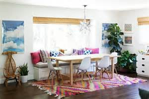decorate by number california eclectic dining room the