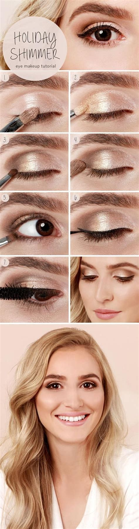 tutorial makeup natural for party 17 best light smoky eye makeup tutorials for summer