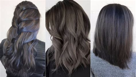 charcoal hair color the gorgeous hair colour trend your won t mind you