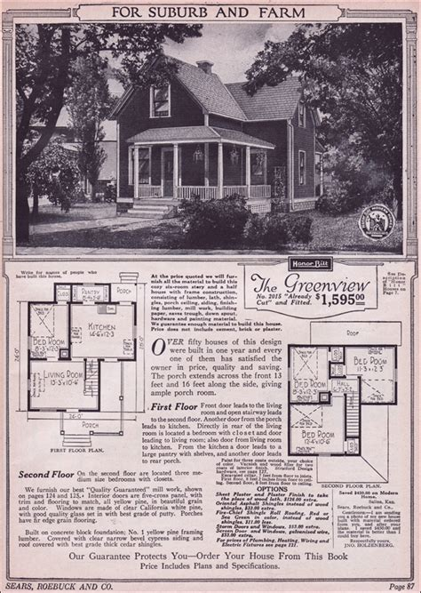 sears kit homes floor plans 1923 sears mailorder house designing a house must have