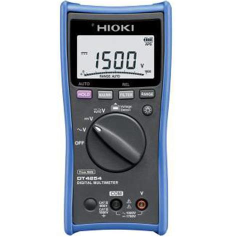 hioki dt4254 digital multimeter meter digital