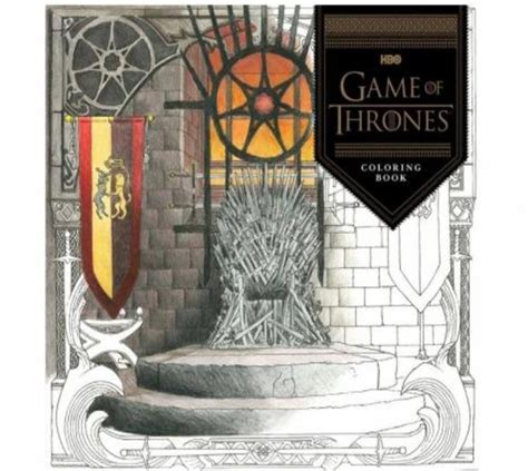 thrones colouring book review the official a of thrones colouring book review