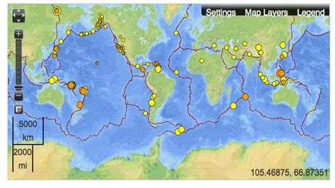 earthquake fault lines map mapping fault lines in earthquake maps musings on maps