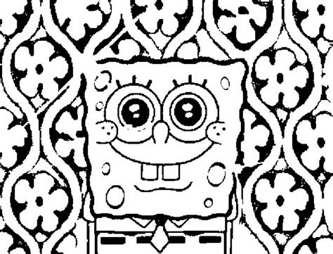 images printable coloring pages colouring pages online spongebob squarepants coloring