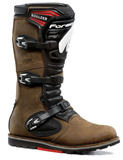 trail bike boots forma boulder trials boots