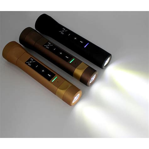 Multifunction Led Torch Power Bank 2000mah With F Diskon senter led multifungsi speaker fm radio power bank 2000mah