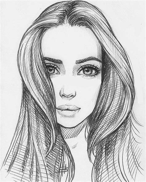 girl face drawing the 25 best girl face drawing ideas on pinterest