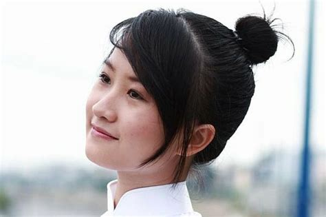 asian hairstyles buns asian cute and easy hairstyles for school with side bangs