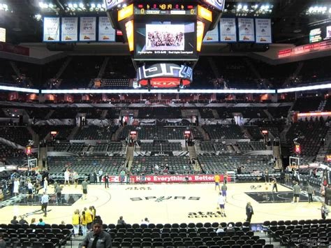 seat section at t center section 122 san antonio spurs