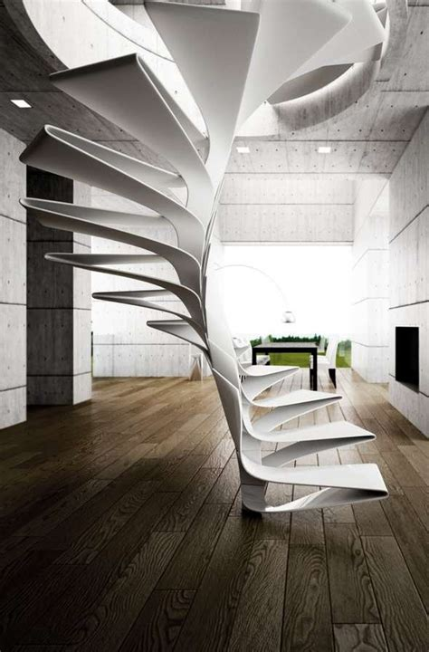 Helical Stairs Design Helical Plexiglass Steps Spiral Staircase Design