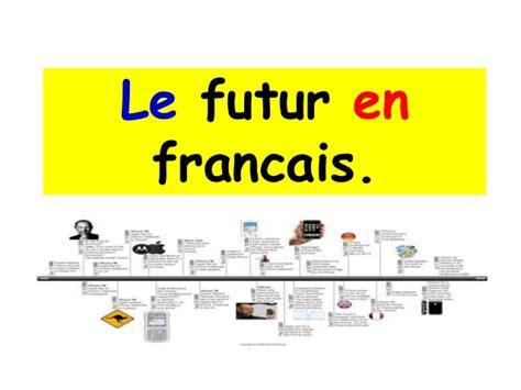 En Français by Le Futur En Francais