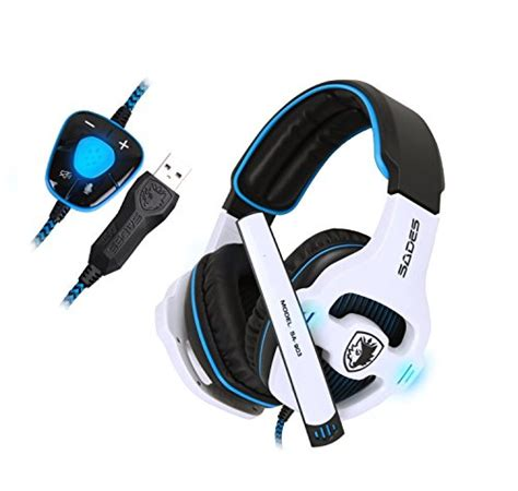 Special Edition Headphone Model Gaming With Microphone Sn 281m V best sades sa903 gaming headset 7 1 surround sound usb pc computer stereo headphones with