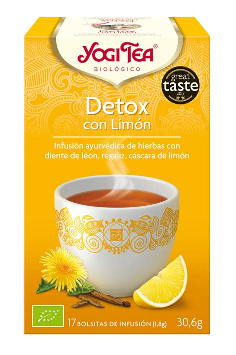 Bootea Detox Donde Comprar by Detox Con Lim 243 N Yogi Tea 174