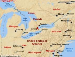 Hamilton Canada Map by Agrow Boyfriend