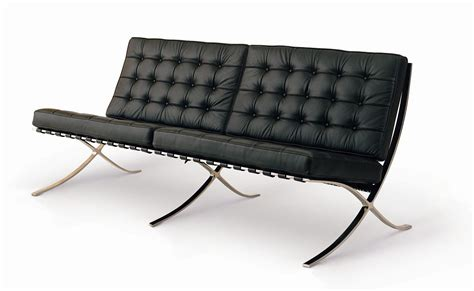 barcelona sofas shop barcelona sofa by mies van der rohe 71 quot for only 1695
